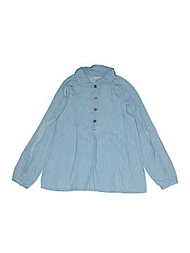 CALVIN KLEIN JEANS Long Sleeve Button-Down Shirt Size 6