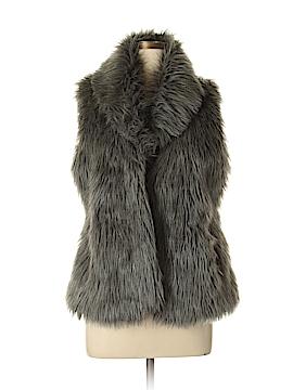 TAXI Faux Fur Vest Size L