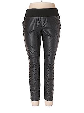 INC International Concepts Faux Leather Pants Size 16W