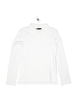 Gap Kids Long Sleeve Polo Size 10