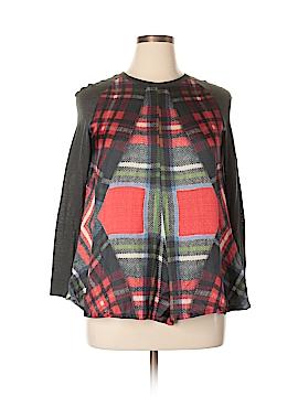 Hache Long Sleeve Blouse Size 46 (EU)
