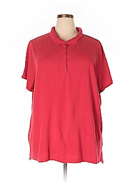 Faded Glory Short Sleeve Polo Size 4X (Plus)