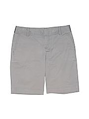 Caslon Women Khaki Shorts Size 0
