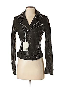 Anine Bing Leather Jacket Size XS