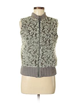 Tiara Faux Fur Vest Size M