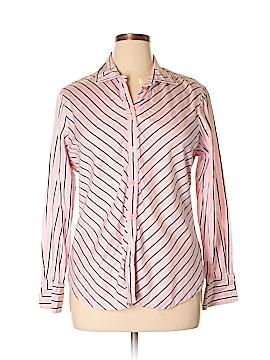 Jones Wear Long Sleeve Button-Down Shirt Size XL