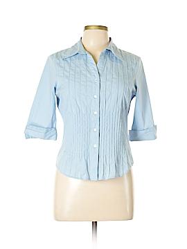 Bay Studio 3/4 Sleeve Button-Down Shirt Size M