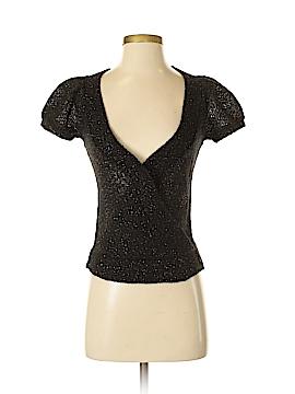 Diane von Furstenberg Short Sleeve Top Size P