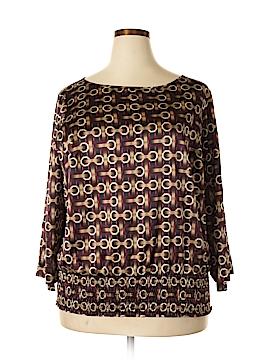 Worthington 3/4 Sleeve Blouse Size 1X (Plus)