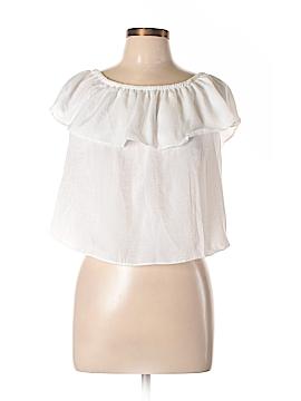LA Hearts Short Sleeve Blouse Size L