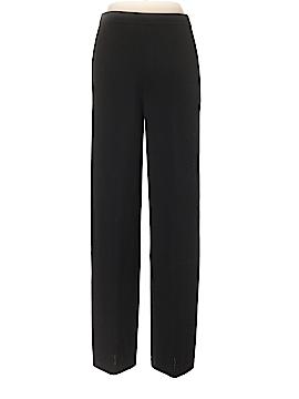 St. John Caviar Wool Pants Size 10