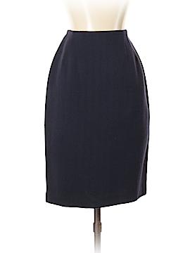 Linda Allard Ellen Tracy Wool Skirt Size 2 (Petite)