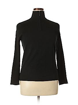 Chico's Design Silk Pullover Sweater Size XL (3)