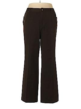 Ellen Tracy Casual Pants Size 18 (Plus)