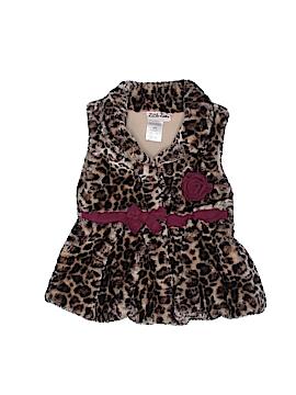 Little Lass Faux Fur Vest Size 18 mo