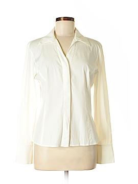 Lafayette 148 New York Long Sleeve Button-Down Shirt Size 6