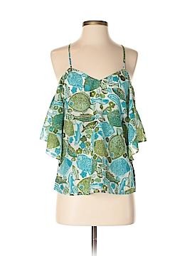 Vanessa Virginia Short Sleeve Blouse Size 0