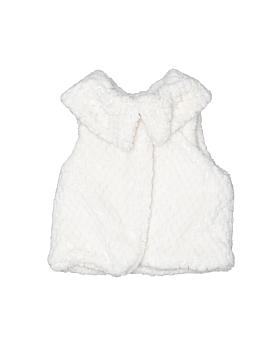 Tahari Faux Fur Vest Size 3-6 mo