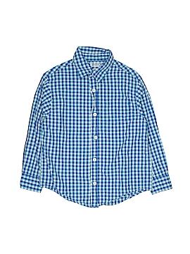 Arizona Jean Company Long Sleeve Button-Down Shirt Size X-Large (Kids)