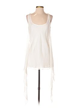 Gold Hawk Sleeveless Silk Top Size S
