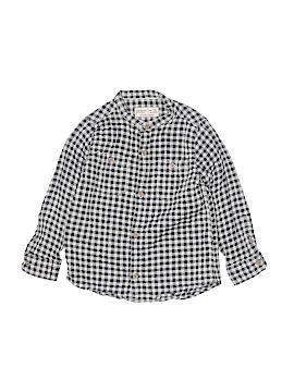 Zara Kids Long Sleeve Button-Down Shirt Size 5