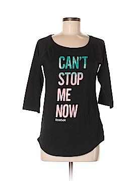 Reebok 3/4 Sleeve T-Shirt Size M
