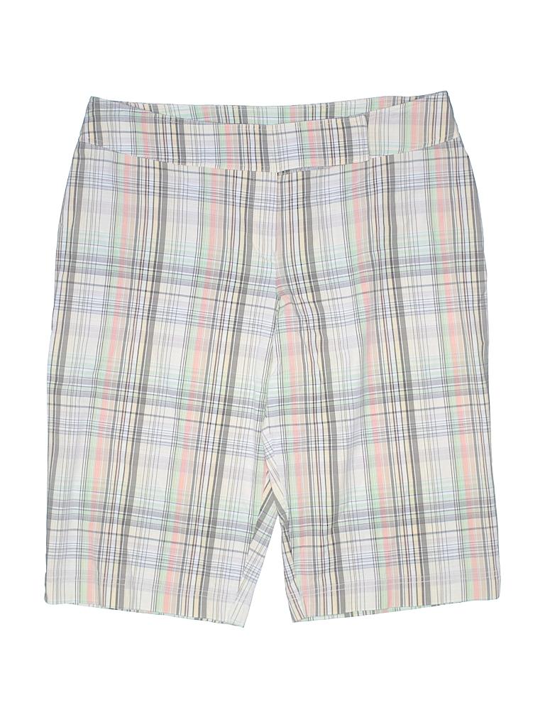 3beb57c41 Bay Studio Plaid Beige Khaki Shorts Size 16 (Petite) - 77% off