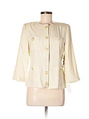Due Per Due Women 3/4 Sleeve Silk Top Size 6