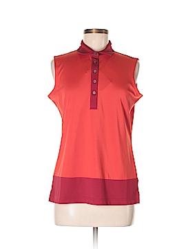 Oxford Sleeveless Polo Size M