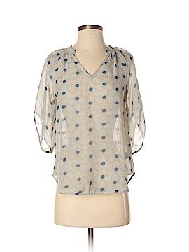 Fei 3/4 Sleeve Silk Top Size 0