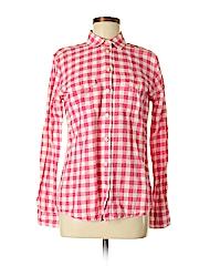 Banana Republic Women Long Sleeve Button-Down Shirt Size M