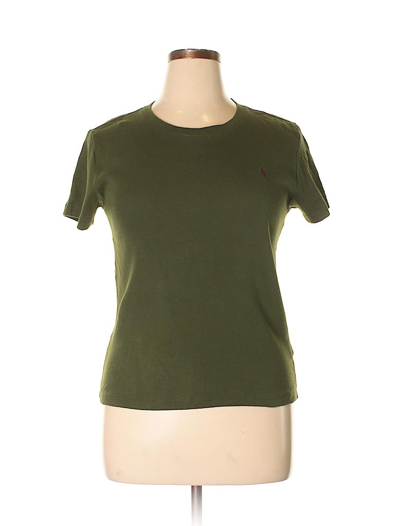 Ralph Lauren Women Short Sleeve T-Shirt Size XL