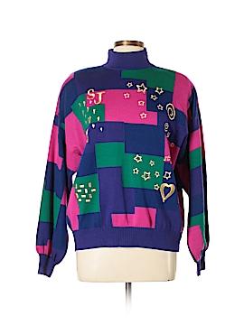 St. John Turtleneck Sweater Size L