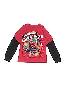 Spiderman Long Sleeve T-Shirt Size 5