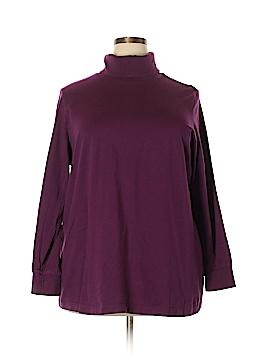 Woman Within Long Sleeve Turtleneck Size 22 (1X) (Plus)