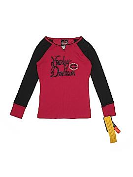 Harley Davidson Long Sleeve T-Shirt Size 8