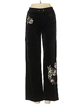 BCBGMAXAZRIA Velour Pants Size S (Petite)