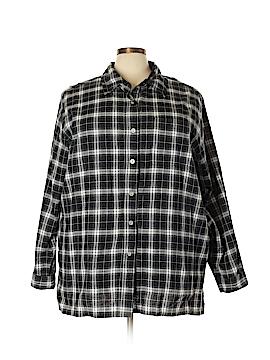 Avenue Blues Long Sleeve Button-Down Shirt Size 30 (Plus)