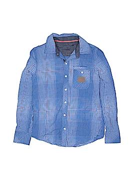 Epic Threads Long Sleeve Button-Down Shirt Size S (Kids)