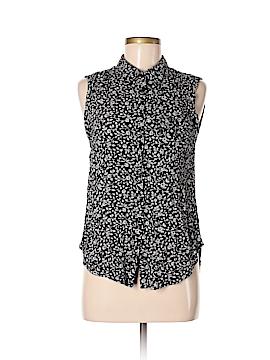 Amuse Society Sleeveless Button-Down Shirt Size M