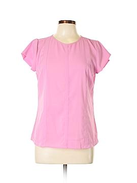 Kardashian Kollection Short Sleeve Blouse Size L