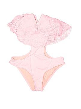 LA Hearts One Piece Swimsuit Size M