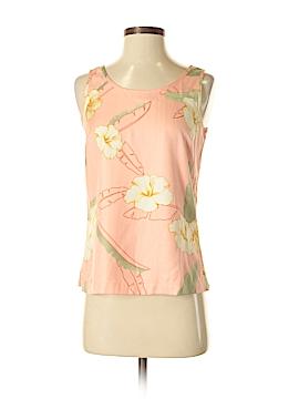 Tommy Bahama Sleeveless Silk Top Size XS