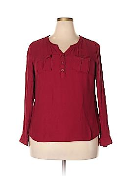 DressBarn Long Sleeve Blouse Size 1X (Plus)