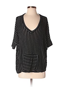 Audrey 3+1 Short Sleeve Top Size M