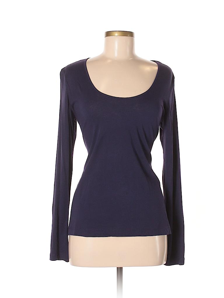 Cynthia Rowley for Marshalls Women Long Sleeve T-Shirt Size M