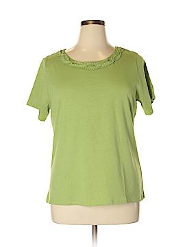 Alex Marie Short Sleeve T-Shirt Size 1X (Plus)