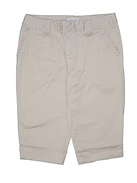St. John's Bay Khaki Shorts Size 8 (Petite)