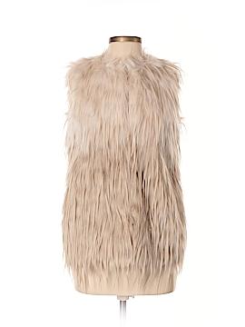 Dolce Cabo Faux Fur Vest Size XS