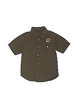 Arizona Jean Company Short Sleeve Button-Down Shirt Size 2T